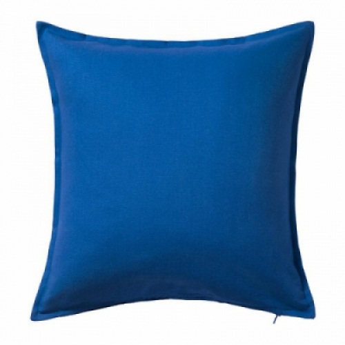 ГУРЛИ Чехол на подушку,синий