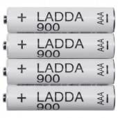 ЛАДДА Аккумуляторная батарейка, HR03 AAA 1,2 В