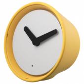 СТОЛПА Часы, желтый, 14 см