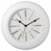 СКАЙРОН Настенные часы, белый, 30 см