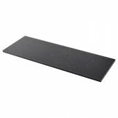 СЭЛЬЯН Столешница, черный под мрамор, ламинат, 246x3.8 см