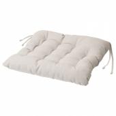 ВИППЭРТ Подушка на стул, бежевый, 38x38x6.5 см