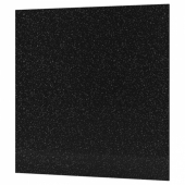 КЛИНГСТА Настенная панель под заказ, черный/белый под камень, акрил, 1 м²x1.2 см