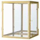 БУМАРКЕН Рама для трехмерной картины, золотой, 17x20x16 см