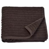 ФЛОДАРЕН Банное полотенце, темно-коричневый, 70x140 см