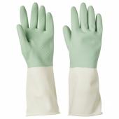 РИННИГ Хозяйственные перчатки, зеленый, S