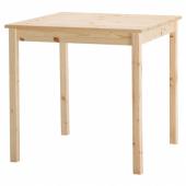 ИНГУ Стол, сосна, 75x75 см