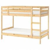 МИДАЛ Каркас 2-ярусной кровати, сосна, 90x200 см