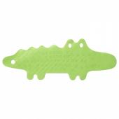 ПАТРУЛЬ Коврик в ванну, крокодил зеленый, 33x90 см