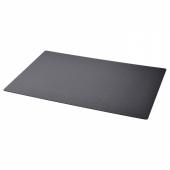 СКРУТТ Подкладка на стол, черный, 65x45 см