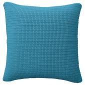 СЁТХОЛЬМЕН Чехол на подушку, д/дома/улицы, голубой, 50x50 см