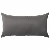 КРОНЭРТ Подушка, темно-серый, 30x58 см