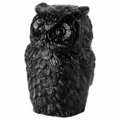 ЭРИНРА Украшение, сова черный, 22 см