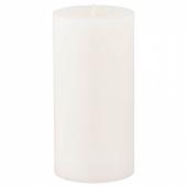 СИНЛИГ Формовая свеча, ароматическая, Сладкая ваниль, естественный, 14 см