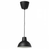 СКУРУП Подвесной светильник, черный, 19 см