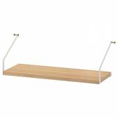 СВАЛЬНЭС Полка, бамбук, 61x25 см