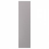 БУДБИН Накладная панель, серый, 62x240 см