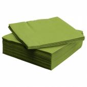 ФАНТАСТИСК Салфетка бумажная, классический зеленый, 40x40 см