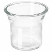 ИКЕА/365+ Банка, круглой формы, стекло, 1.0 л