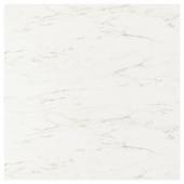 СИББАРП Настенная панель под заказ, белый под мрамор, ламинат, 1 м²x1.3 см