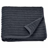 ФЛОДАРЕН Банное полотенце, темно-серый, 70x140 см