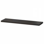 БЕСТО Полка, черно-коричневый, 56x16 см