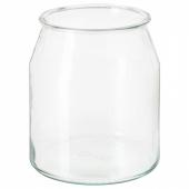 ИКЕА/365+ Банка, круглой формы, стекло, 3.3 л
