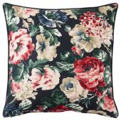 ЛЕЙКНИ Чехол на подушку, черный, разноцветный, 50x50 см