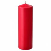 ФЕНОМЕН Неароматич свеча формовая, красный, 25 см