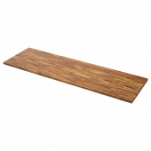 ПИННАРП Столешница, грецкий орех, шпон, 246x3.8 см