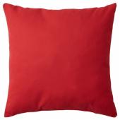 ВАЛЬБЬЁРГ Подушка, красный, 50x50 см