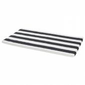 ХЕММАХОС Подушка на скамью, черный, 90x49x3 см