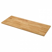 КАРЛБИ Столешница, дуб, шпон, 246x3.8 см