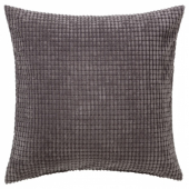 ГУЛЛЬКЛОКА Чехол на подушку, серый, 50x50 см