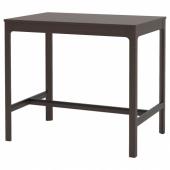 ЭКЕДАЛЕН Барный стол, темно-коричневый, 120x80 см