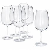 СТОРСИНТ Бокал для красного вина, прозрачное стекло, 68 сл