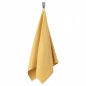 ВОГШЁН Полотенце, светло-желтый, 50x100 см
