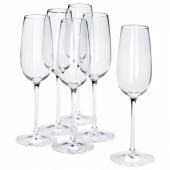 СТОРСИНТ Бокал для шампанского, прозрачное стекло, 22 сл