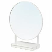 ВЕННЕСЛА Зеркало настольное, белый, 79 см
