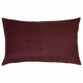 САНЕЛА Чехол на подушку, темно-красный, 40x65 см