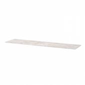 БЕСТО Верхняя панель, под бетон, светло-серый, 180x42 см