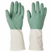 РИННИГ Хозяйственные перчатки, зеленый, M