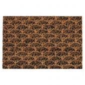 КАСКАДГРАН Придверный коврик для дома, неокрашенный, темно-коричневый, 40x60 см