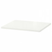 ХЭЛПА Полка, белый, 60x55 см