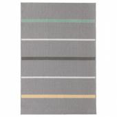 НОРУП Ковер, короткий ворс, серый, разноцветный, 120x180 см