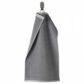 ВИКФЬЕРД Полотенце, серый, 30x50 см