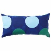КРОКУСЛИЛЬЯ Подушка, синий, зеленый, 30x60 см