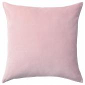 САНЕЛА Чехол на подушку, светло-розовый, 50x50 см