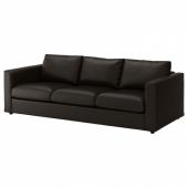 ВИМЛЕ 3-местный диван, Фарста черный