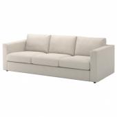 ВИМЛЕ 3-местный диван, Гуннаред бежевый